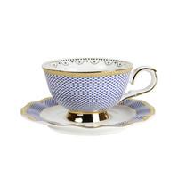 Robert Gordon: Teacup & Saucer (Parlour Blue) image