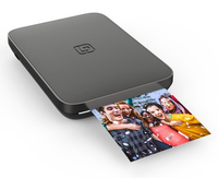 Lifeprint: 3x4.5 Portable Photo AND Video Printer for iPhone and Android - Black