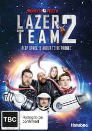 Lazer Team 2 on DVD