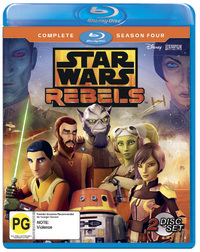 Star Wars Rebels: Season 4 on Blu-ray