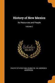 History of New Mexico by Pacific States Publishing Co 4n