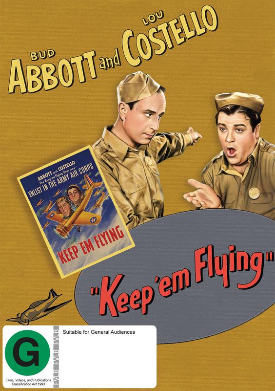 Keep 'Em Flying on DVD