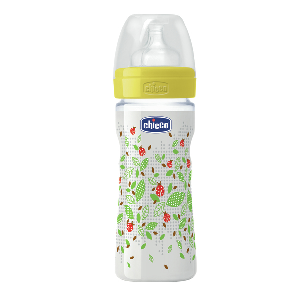 Chicco: Well-Being Silicone Bottle - 2m+ 250ml (Unisex)