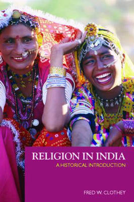 Religion in India by Fred W Clothey image