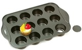 Non-stick Mini Cheesecake Pan (Loose Base - 12 Cup)
