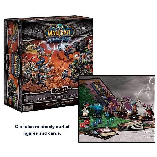 World of Warcraft Miniatures Core Set Deluxe Edition