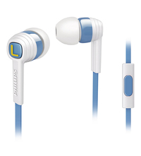 Philips CitiScape Indies In Ear Headphones (Blue/White)