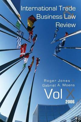 International Trade and Business Law Review: Volume X image