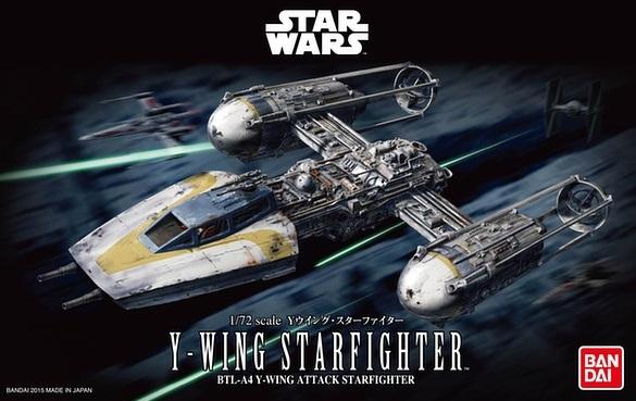Star Wars: 1/72 Y-Wing Starfighter Model Kit image
