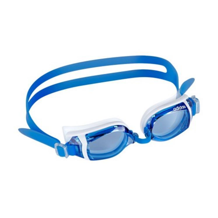 Adidas Hydro Explorer Goggles - Blue Lens (Blue/White) image