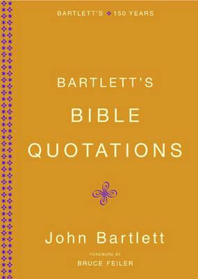 Bartletts Bible Quotations by John Bartlett