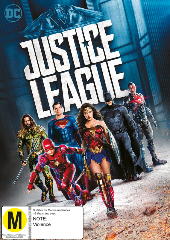 Justice League on DVD