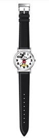 Disney: Mickey Mouse - Black Strap Watch