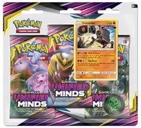 Pokemon TCG: Unified Minds Three Booster Blister - Stakataka