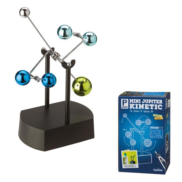 Toysmith: Mini Jupiter Mobile - Kinetic Desktop Toy