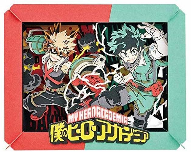 My Hero Academia: Paper Theater: Izuku Midoriya & Katsuki Bakugo