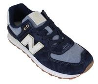 New Balance: Mens 574 Running Shoes - Dark Blue (Size US 11)