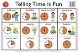 Learning Can Be Fun - Telling the Time Is Fun - Placemat