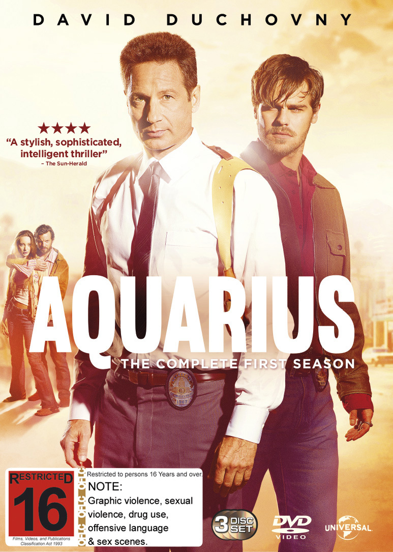 Aquarius Season 1 on DVD image