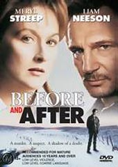 Before And After on DVD