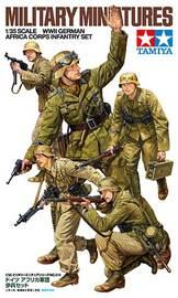Tamiya: 1/35 WWII German Africa Corps Infantry Set