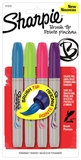 Sharpie Brush Tip Markers assorted fashion 4pk