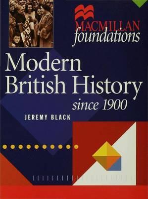 Modern British History by Jeremy Black image