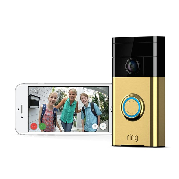 Ring: Video Doorbell - Polished Brass