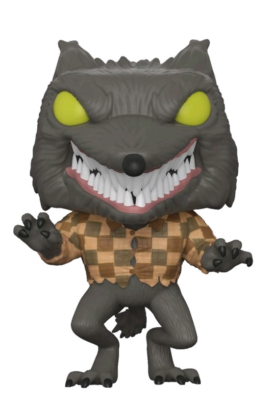Nightmare Before Christmas - Wolfman Pop! Vinyl Figure