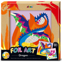 Avenir: Photo Frame - Foil Art Kit (Dragon)