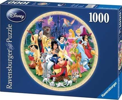 Ravensburger 1000pc Jigsaw Puzzle - Wonderful World of Disney image