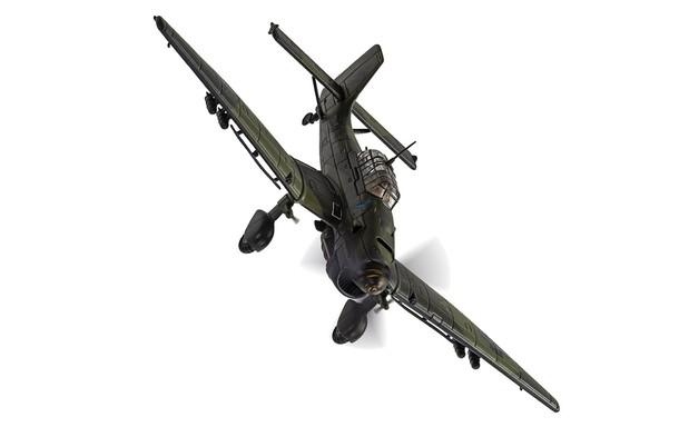 1/72 Ju87B-2 Stuka: Luftwaffe Diecast Model