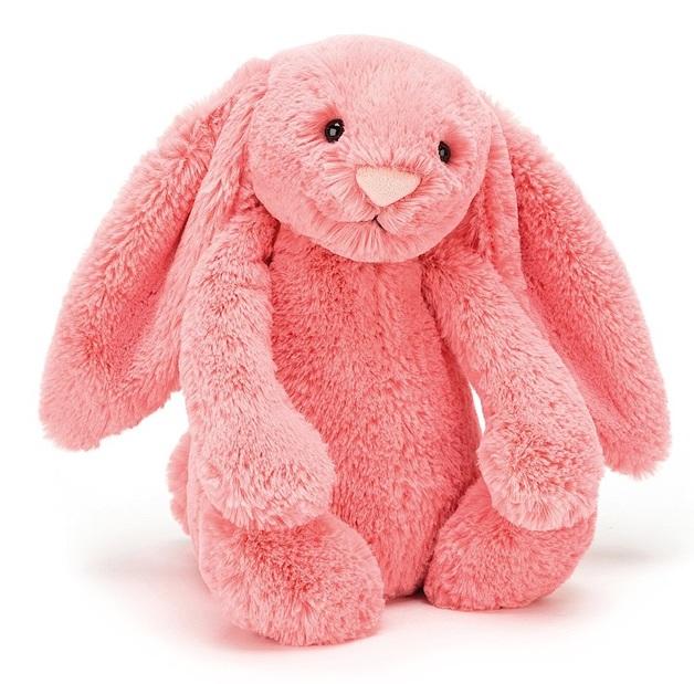 Jellycat: Bashful Coral Bunny - Medium Plush
