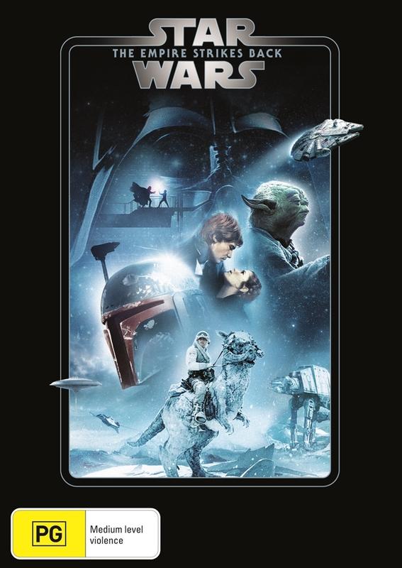 Star Wars: Episode V - The Empire Strikes Back on DVD