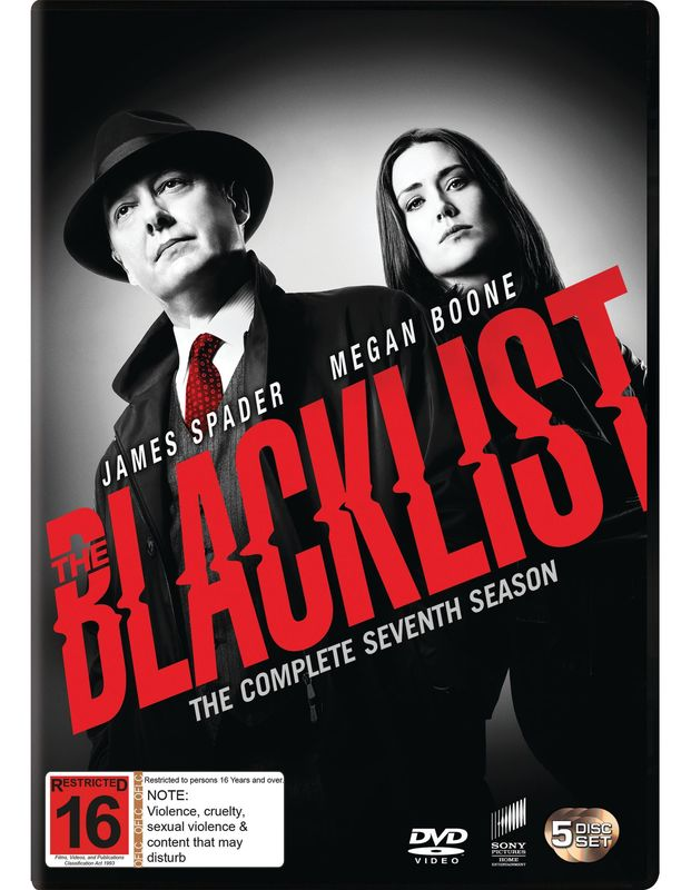 The Blacklist - The Complete Seventh Season on DVD
