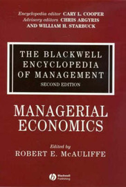 The Blackwell Encyclopedia of Management image