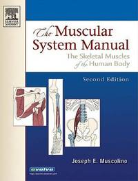 The Muscular System Manual: The Skeletal Muscles of the Human Body by Joseph E Muscolino image