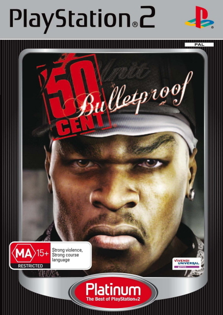 50 Cent: Bulletproof for PS2