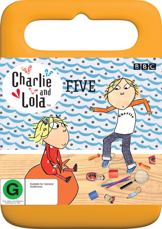 Charlie and Lola - Five on DVD