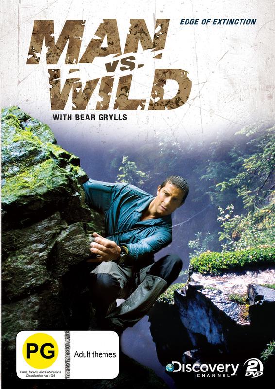 Man vs Wild - Season 2 Collection 2: Edge of Extinction on DVD