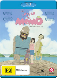 A Letter To Momo on Blu-ray