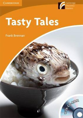 Tasty Tales Level 4 Intermediate American English Book with CD-ROM and Audio CDs (2) Pack: Level 4 by Frank Brennan image