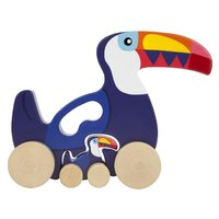 Sunnylife Push n Pull Toy - Toucan