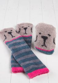 Natural Life: Cozy Critter Socks - Dog