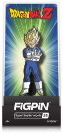 Dragon Ball Z: SS Vegeta (#25) - Collectors FIGPiN image
