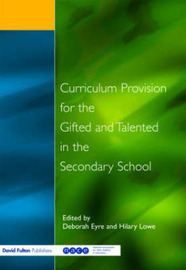 Curriculum Provision for the Gifted and Talented in the Secondary School image
