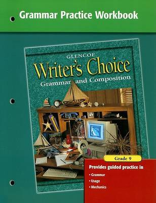 Grammar Practice Workbook by McGraw-Hill Education image
