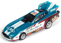 Auto World 4Gear Tim Wilkerson Mustang Funny Car (LRS) Slot Car