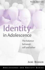 Identity In Adolescence by Jane Kroger image