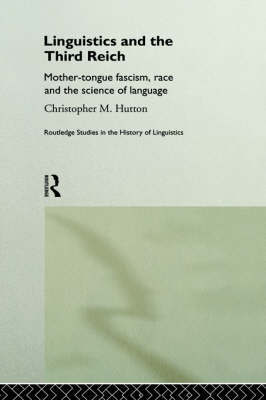 Linguistics and the Third Reich by Christopher Hutton image